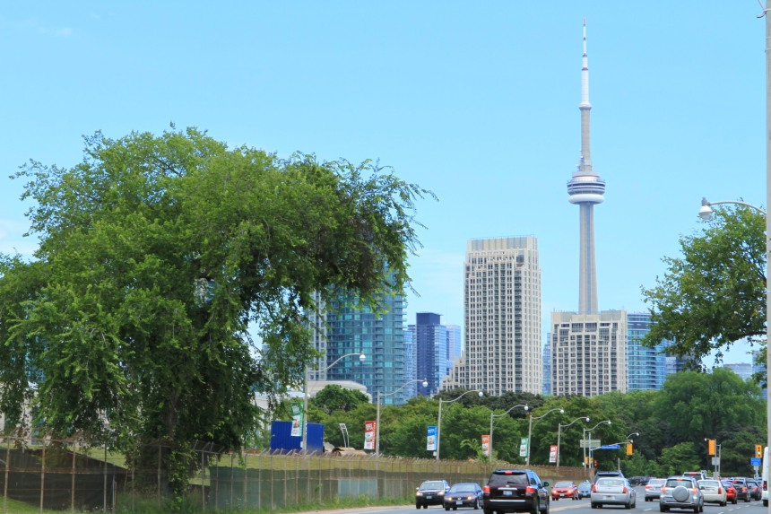 City of Toronto viewed from Lakeshore, August 11, 2013 by mm