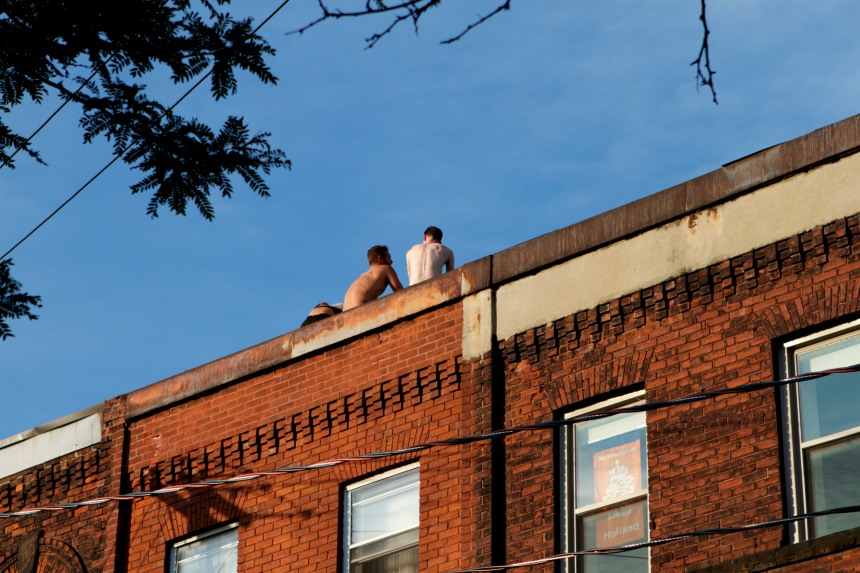 Backs to Ossington by mm