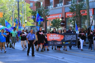 """OPSEU union says: """"We stand for fairness"""""""